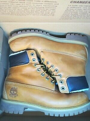 39fe5883546 Chaussure Homme Timberland 6-Inch Boots - Bottines Cuir Nubuck Beige Taille  43