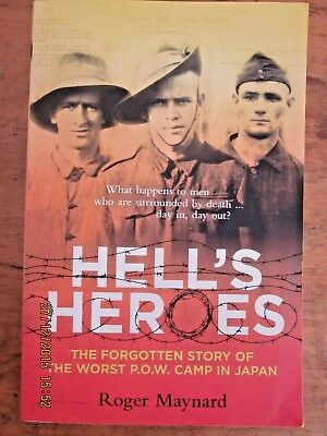 ~Hell's Heroes by Roger Maynard (Paperback, 2009) - VGC~