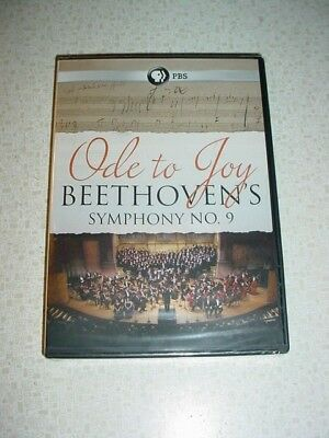 NEW Ode to Joy Beethoven's Symphony No. 9 DVD COMPLETE TELEVISED PERFORMANCE PBS