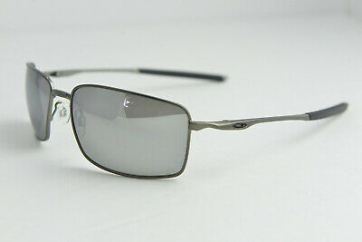 55ec8902961 OAKLEY W SQUARE WIRE II Carbon   Chrome Iridium Polarized (OO4075-08) 60
