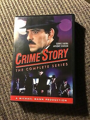 Crime Story: The Complete Series (9-DVD SET) Dennis Farina, OOP