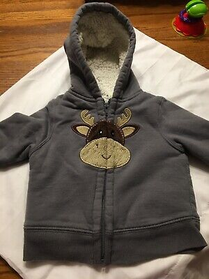 e46dcaffc HEALTHTEX BABY BOY Faux Fur Lined Hooded Jacket 18 Months - $9.99 ...
