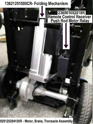 Solax Scooter Transformer Motor Brake Transaxle - Parts from Enhance Mobility
