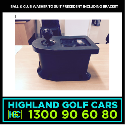 Golf Cart Ball & Club Washer to Suit Club Car Precedent including Bracket