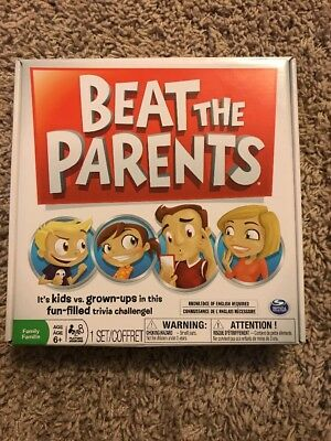 Beat the Parents Spin Master Games 6038148