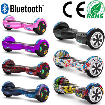 Hoverboard 6,5 Pollici Self-Balancing Board Elettrico Scooters+Bluetooth+Borsa