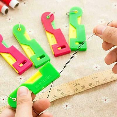 3/5/10Pcs Automatic Needle Threader Thread Guide Tools Device Hand Sewing Gadget