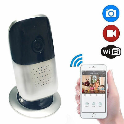 Panoramic 1080P Wireless WiFi Baby Monitor Indoor Home Security Nanny Camera