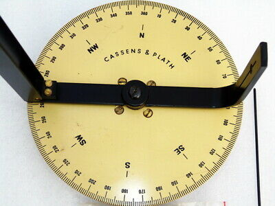 Cassens & Plath Germany Ships Boat Yacht Marine Navigation Azimuth Dry Compass