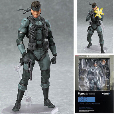 Figma 243 Metal Gear Solid 2 Sons of Liberty serpent Action Figure Statue jouets