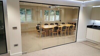Frameless Glass Panels for Glass Partitions - 10mm Toughened Glass