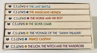 C.S Lewis The Chronicles of Narnia Box Set, 1970, First Ed. Collier Publishing