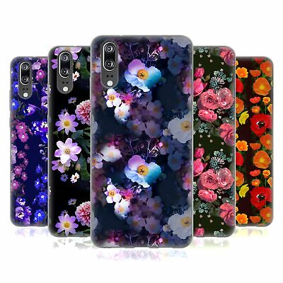 Official Laura Thompson Botanical Midnight Soft Gel Case For Huawei Phones