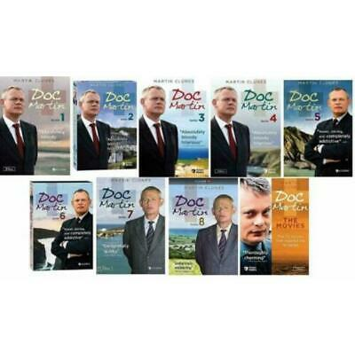Doc Martin The Complete Series Season 1 -8+ MOVIE( DVD, Box Set ) Factory Sealed