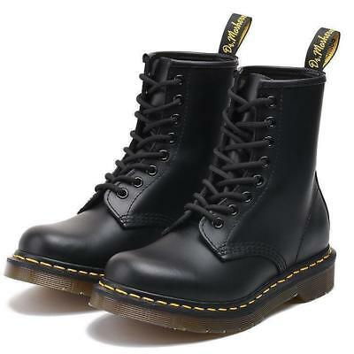 2018 Dr Martens 8-Eye Classic Airwair 1460 Leather Canvas Ankle Boots Unisex