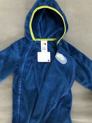 The North Face + Infant Butter Fleece Bunting + TNF Fleece Overall + 12 bis 18 M