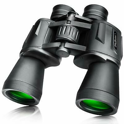 Full Size Folding Binoculars 10x50 Bird Watching Hiking Camping Outdoor Sports