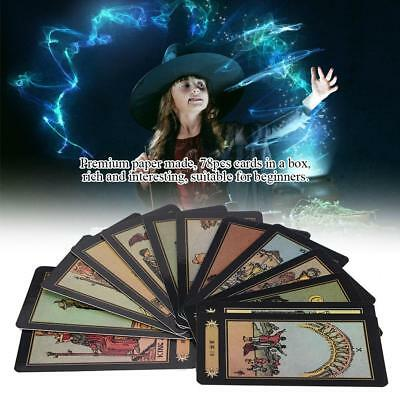 78pcs Tarot Cards Deck Card Game Toy Gift For Family Children Kid Board Games RT