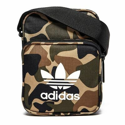 24ab379676 adidas ORIGINALS MEN S MINI FESTIVAL BAG CAMO TREFOIL PARKLIFE LEEDS  READING NEW