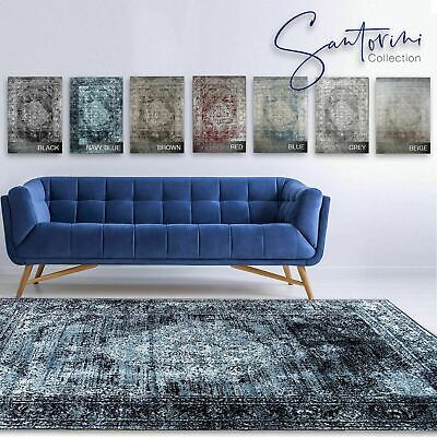 A2Z Rug Santorini Medallion Quality Large Luxury Runner Bedroom Rugs Floor Mats