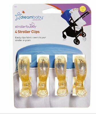 Buddy Pram Clips -Hook Your Bags Safely On Your Pushchair Or Stroller