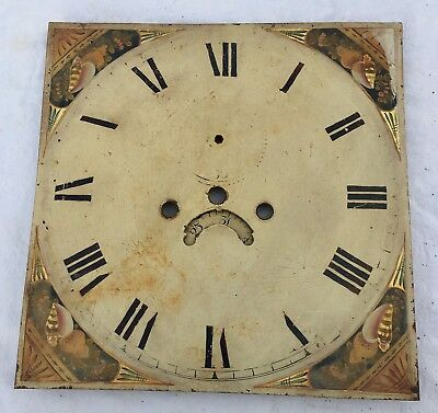 Antique Longcase/Grandfather Clock Dial This Is 8day