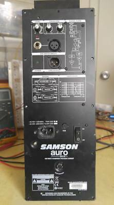 Samson  Auro  415D  Amp Assembly
