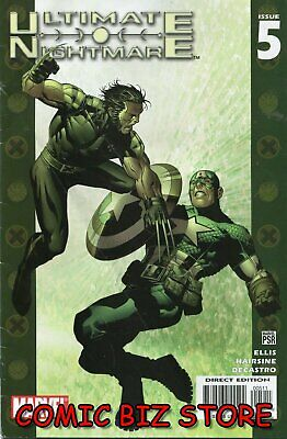Ultimate Nightmare #5 (2005) 1St Printing Bagged & Boarded Marvel