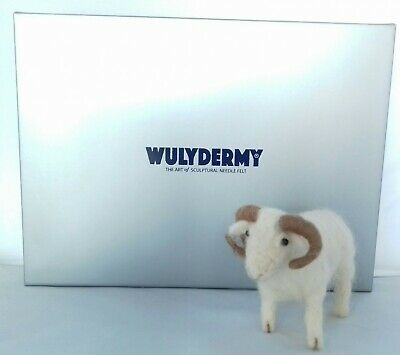 Sheep  needle felt kit  White Faced WoodLand Rare Breed British Wool
