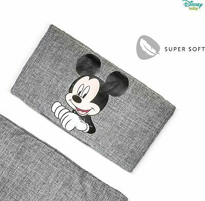 Hauck DISNEY ALPHA HIGHCHAIR PAD DELUXE - MICKEY MOUSE GREY Booster Seat BN