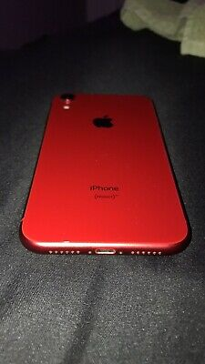 917931339c APPLE IPHONE XR - 64GB - Red (Unlocked) A1984 (CDMA + GSM) IC LOCKED ...