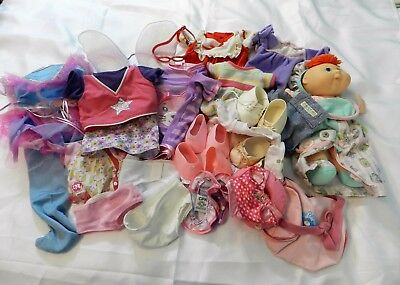 "Huge Lot Of "" Cabbage Patch"", Doll, Clothes, Shoes, Acc., Wide Size Variety"