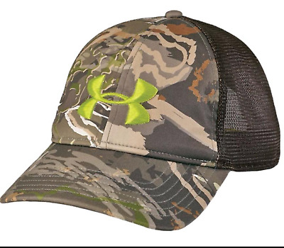e3559fac55f UNDER ARMOUR MEN S UA Scent Control Big Flag Logo Camo SnapBack Cap ...