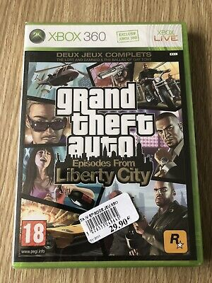 Grand Theft Auto Gta Liberty City Xbox 360 Français Neuf Blister New Sealed Rare