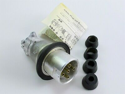 *NEW* Cooper / Crouse-Hinds Delayed Action Arktite Pin & Sleeve Plug CPP495 M10
