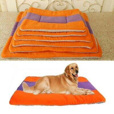 Pet Warm Mat Home Blanket Cushion Soft Washable Pad Indoor Large Cat Dog Bed