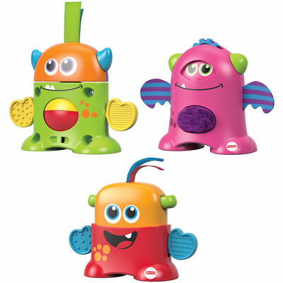 Fisher-Price Tote-Along Monsters You choose Stewart, Harvey, Dottie or all 3!T32