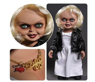 "TIFFANY 15"" MEGA SCALE Bride of Chucky  with  Sound   :  NEW :"