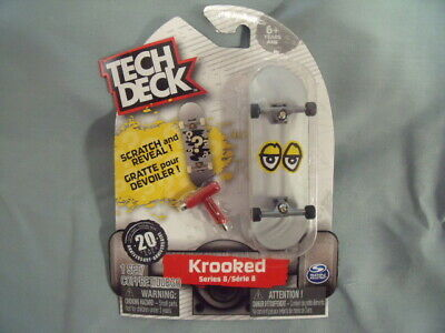 TECH DECK SERIES 8 KROOKED Scratch and Reveal ULTRA RARE Fingerboard! T3 5
