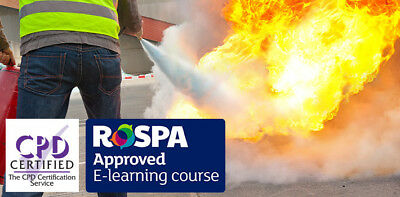 fire safety online training course with certification