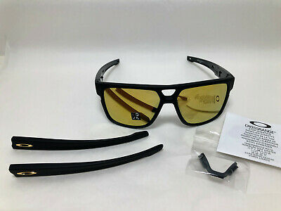 73f2e7bc860 Oakley CROSSRANGE PATCH Sunglasses MATTE BLACK 24K IRIDIUM OO9382-0460