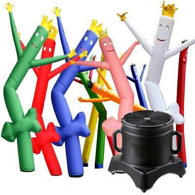12' Inflatable Fly Guy Advertising Air Powered Wacky Waving Tube Man With Blower