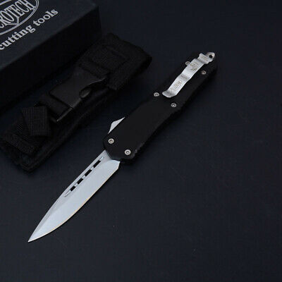 Coltello Microtech Ultra Black Single Cut Da Collezione Edc Hunt Balisong Otf