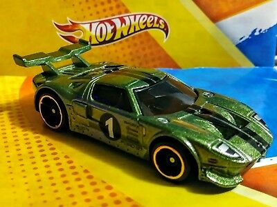Hot Wheels 2018 Ford Gt Green Multi Pack Exclusive  New! * Rare*  **clearance**