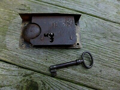 Vintage/antique door drawer lock with the bell, project, working, collector
