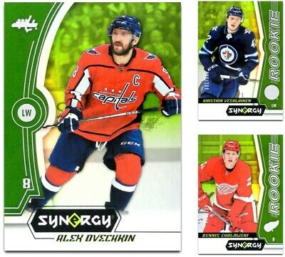 2018-19 UD Synergy Green BASE & ROOKIES **** PICK YOUR CARD **** From The LIST