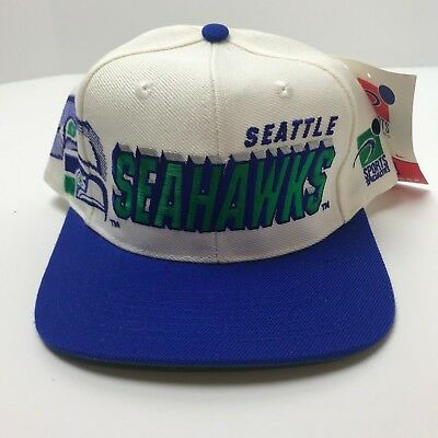 Vintage Seattle Seahawks Sports Specialties Shadow Hat NEW WITH TAGS 90s NFL 239b928e1