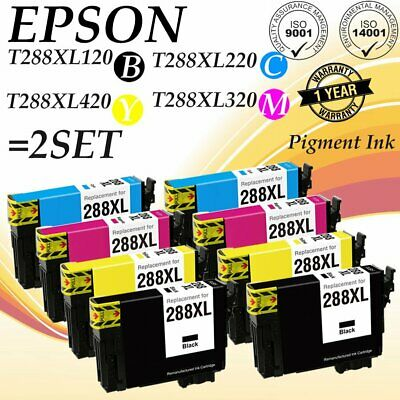 8PK Remanufactured 288XL T288XL Ink Cartridge for Epson Expression XP-330 XP-430