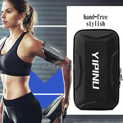 Universal Sport Running Gym Arm Band Case For Samsung Phone Holder Zipper Bag AU