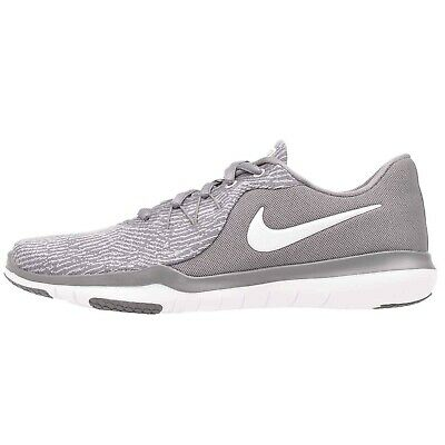 aa4ff2ddc3cd Nike Womens WMNS Flex Supreme TR 6 Gunsmoke White Atmosphere Grey Size 9.5